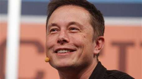 Elon Musk, owner of Tesla Motors and Space