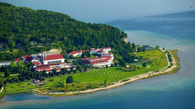 Mission Point Resort, a lakefront property on Michigan's