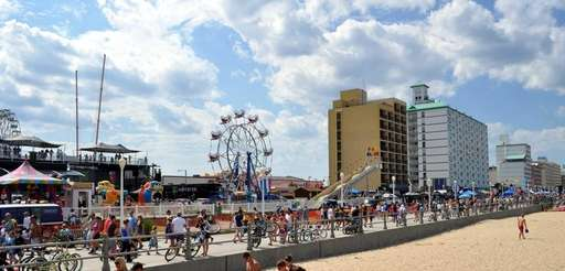 Virginia Beach is a resort city with miles