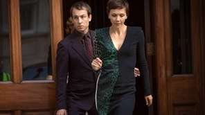 "Tobias Menzies and Maggie Gyllenhaal in ""The Honorable"