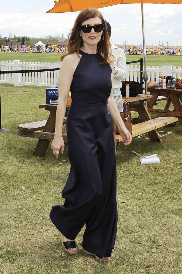 Actress Julianne Moore was an honorary host for