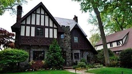 This five-bedroom Tudor house in Merrick is on