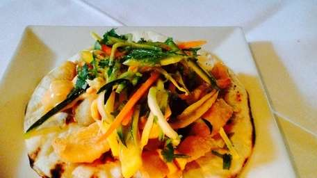 Red snapper stars in the Caribbean fish taco