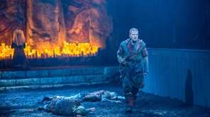 "Kenneth Branagh in Shakespeare's ""Macbeth"" at the Park"