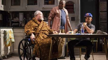 (L-R) Stephen McKinley Henderson, Ray Anthony Thomas and