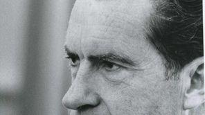 "Richard Nixon in HBO's ""Nixon by Nixon: In"