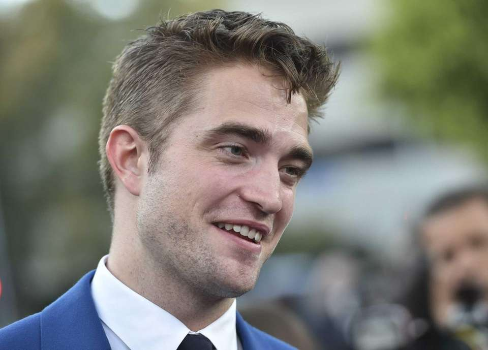 Robert Pattinson attends the premiere of