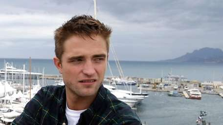 Actor Robert Pattinson promotes