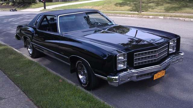 The 1976 Chevrolet Monte Carlo owned by Danny