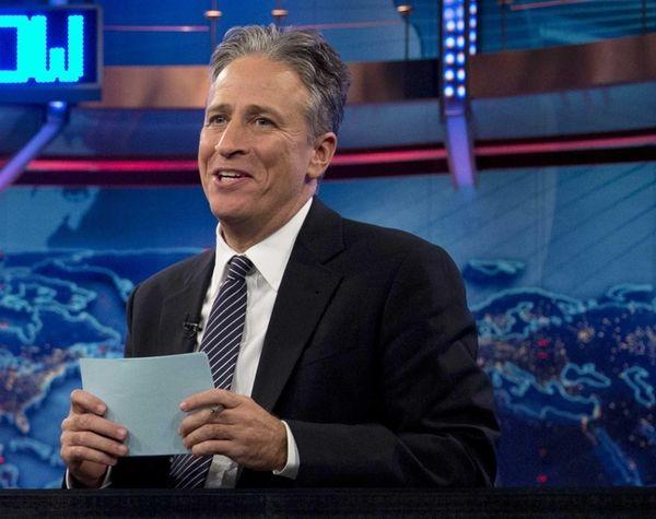 Jon Stewart at a taping of