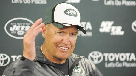 New York Jets' head coach Rex Ryan talks
