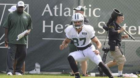 Jets wide receiver Eric Decker (87) during NFL