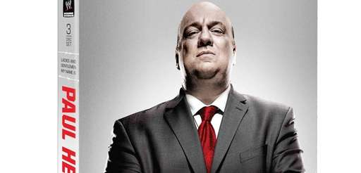 Cover art of WWE personality Paul Heyman's upcoming