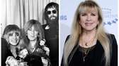 Stevie Nicks and her Fleetwood Mac bandmates with