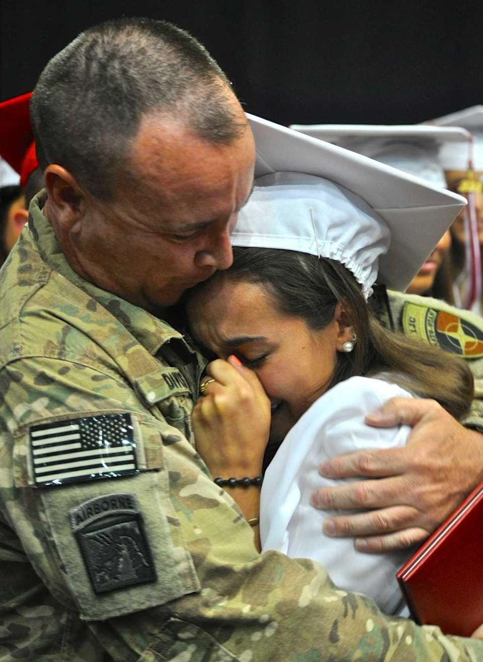 Army Lt. Col. Richard Davis reunites with his
