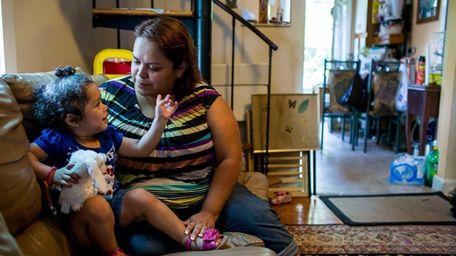 Julia Vasquez with here daughter Samantha Vasquez 2,