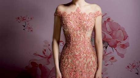 Mieka hosts the Ysa Makino evening gown trunk