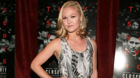 Actress Julia Stiles stars in the one-act dark