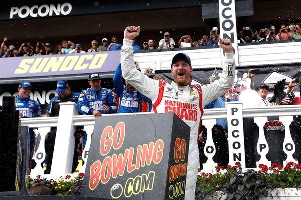 Dale Earnhardt Jr., driver of the #88 Michael