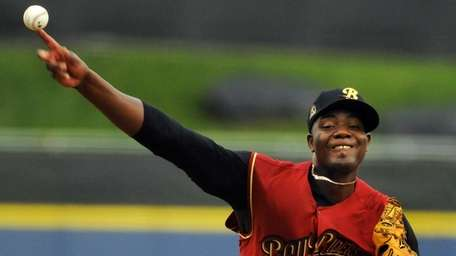 Michael Pineda delivers a pitch during a game