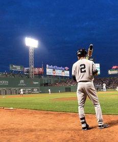 Derek Jeter prepares to bat in the first