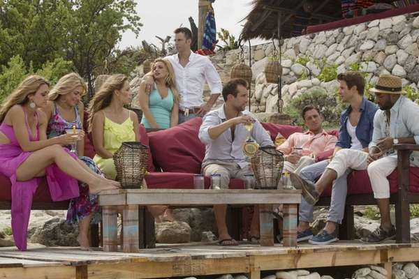 "On ABC's ""Bachelor in Paradise,"" former contenders from"