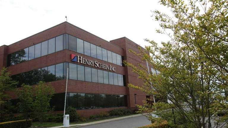 Henry Schein's corporate headquarters in Melville on May