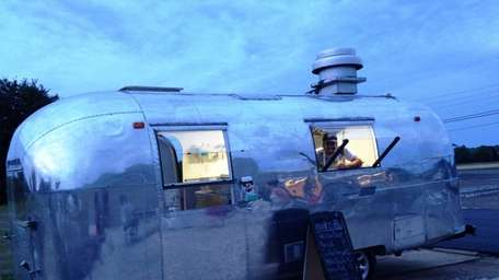 Noah's in Greenport operates a food truck that