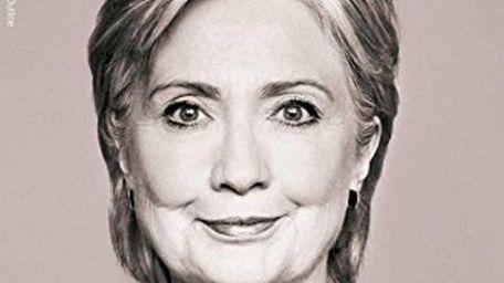 Hillary Clinton signs her new memoir,