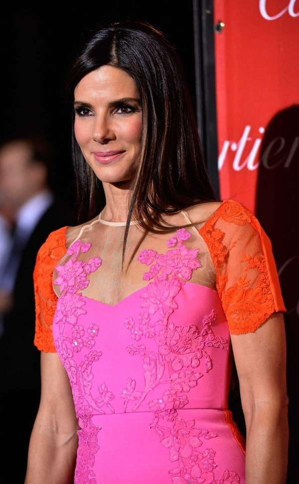 Sandra Bullock arrives at the 25th annual Palm