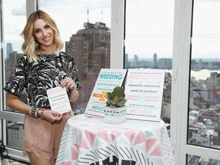 Whitney Port teamed up with Wedding Paper Divas