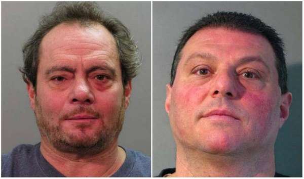 Carlo Strangolagalli, 51, and Michael Mercante, 46, both