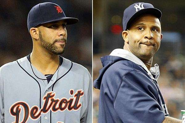 David Price and CC Sabathia are seen in