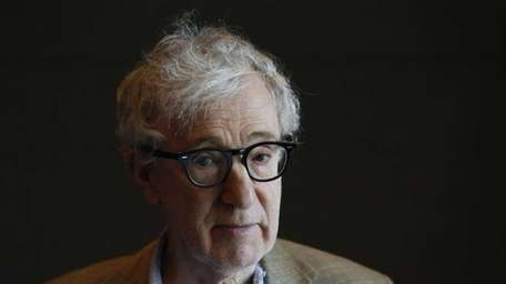 Woody Allen at NoMi restaurant at the Park