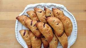 Easy to serve and eat, berry hand pies