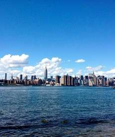 Sunny skies in NYC