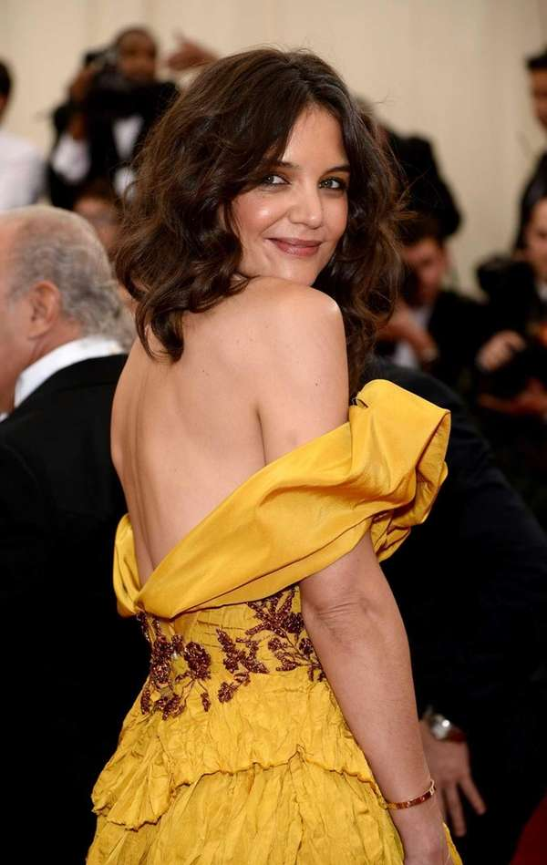 Katie Holmes attends the Charles James: Beyond Fashion