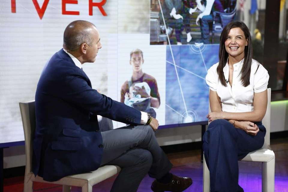 "Katie Holmes chats with Matt Lauer on ""Today"""