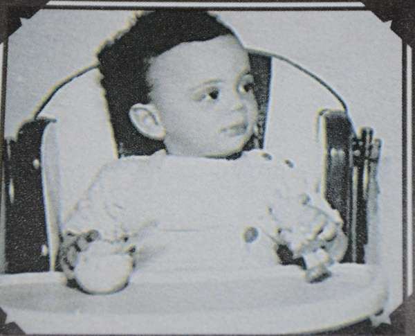 Billy Joel as a baby, circa 1950.