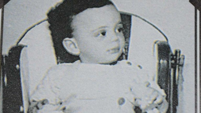 Billy Joel as a baby, circa 1950.