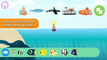 MarcoPolo Ocean is an interactive app for kids