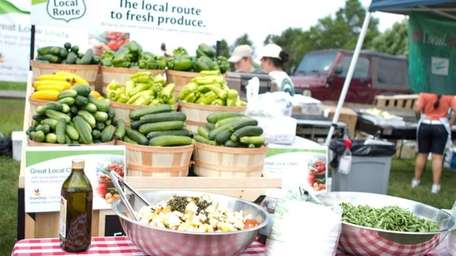 Local produce is the main feature at the