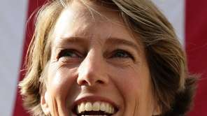 Democratic gubernatorial candidate Zephyr Teachout speaks to supporters