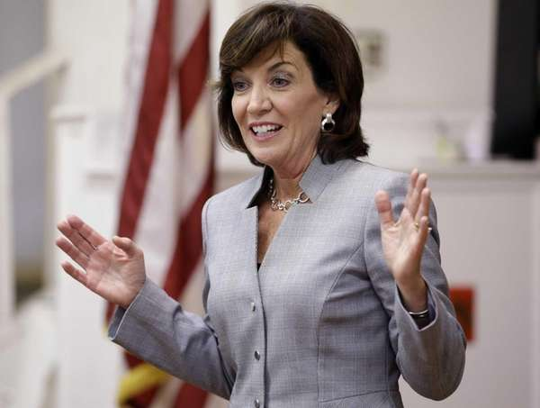 New York State Lt. Gov. candidate Kathy Hochul