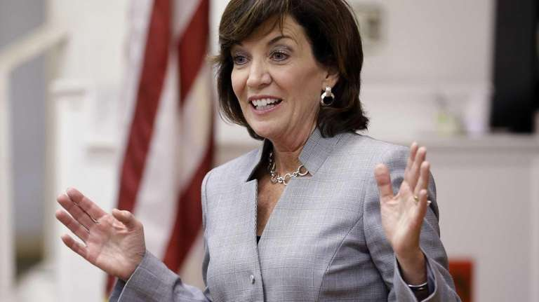 New York State Lt. Gov. candidate Kathy Hochul