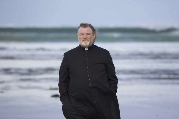 Brendan Gleeson as Father James in