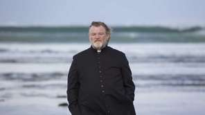 "Brendan Gleeson as Father James in ""Calvary."""