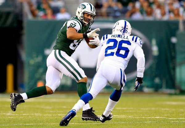 Wide receiver Eric Decker #87 of the Jets