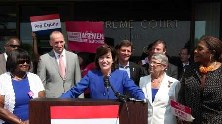 Lieutenant Governor Candidate Kathy Hochul announces the launch