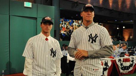 Yankees first-round draft pick pitcher Ian Clarkin (33rd